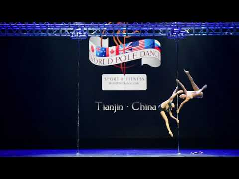 Antonella & Paula 3rd Place Doubles - World Pole Championships – China 2018
