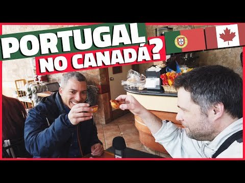 TOUR NA PEQUENA PORTUGAL EM TORONTO - BAIRROS NO CANADÁ
