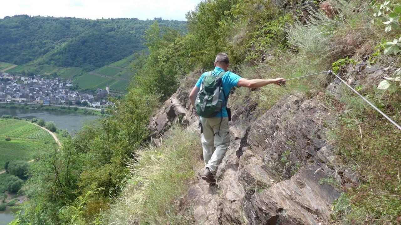 Klettersteig Cochem : Mosel calmont klettersteig youtube