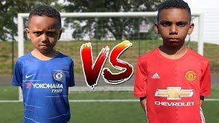 Eden Hazard vs Rashford Penalty Shootout Challenge!!