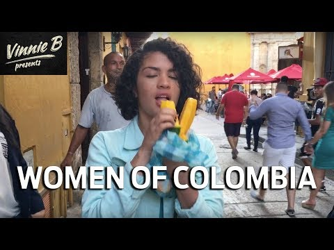COLOMBIA: The Women Of Colombia