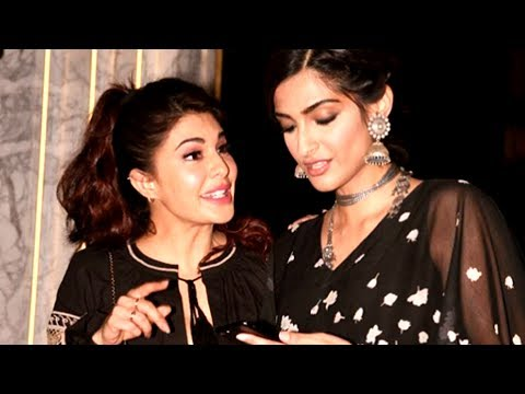 Sonam Kapoor And Jacqueline Fernandez Bond With Each Other At Gauri Khan's Designed Restaurant ARTH