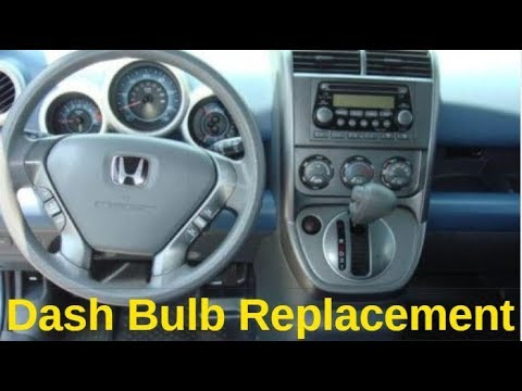 How To Replace The Dash Lights On Your Honda Element