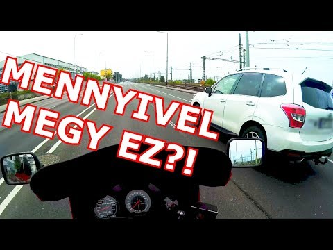 Motovlog HuN ⭐ RF600 vs. Subaru ⭐ Random Ipari Park | Magyar