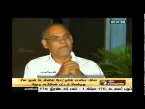 KP Interview to Puthiya Thalaimurai tv