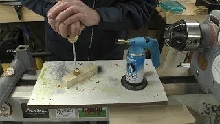 Woodturning - How to make a Branding Iron
