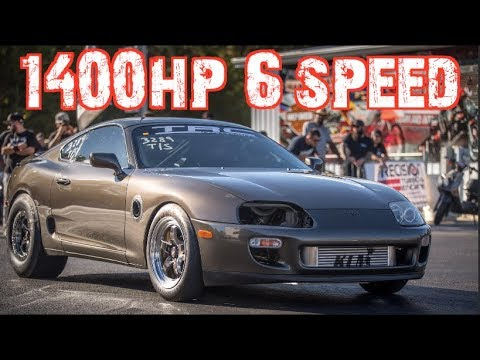 1400HP 6-speed Supra Beats EVERYONE - Wins $5000!