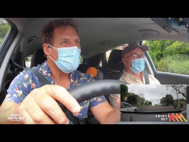 Rob Palmer Takes A Learners Driving Test | Triple M Central Coast