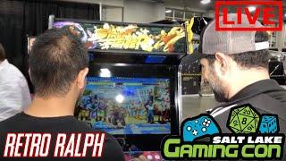 Salt Lake City Gaming Con - Virtual Home Arcades - Virtual Pinball