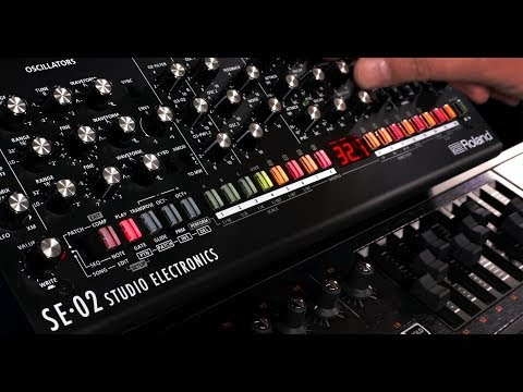 Overview of the Roland SE-02 Analog Synthesizer