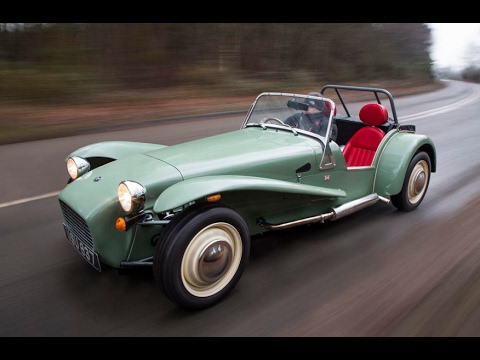 2017 Caterham Seven Sprint review - YouTube
