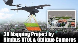 3D Mapping Project by Nimbus VTOL & Oblique Cameras - YouTube