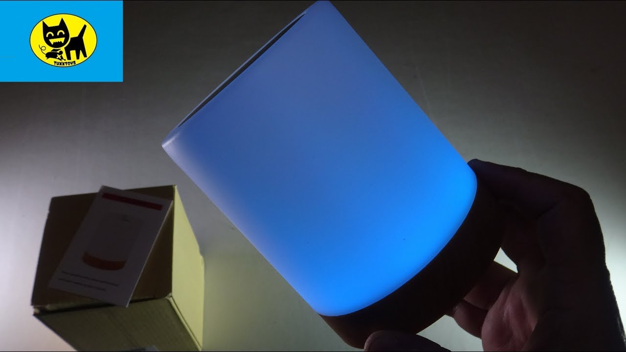 Night Light, UNIFUN Touch Lamp for Bedrooms Living Room Unboxing and review