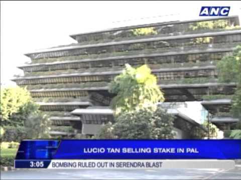 Lucio Tan selling stake in PAL