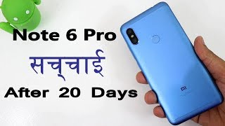 Reason Not To Buy Note 6 Pro After 1 Month Full Review !! Reason To Buy Or Not !! HINDI