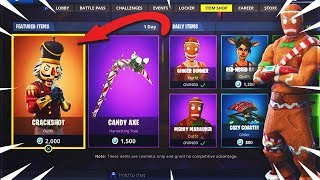 Fortnite CHRISTMAS SKINS CONFIRMED RETURNING dans la saison 7! Merry MarauderMD Crackshot (Fortnite)