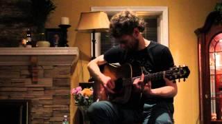 Chadwick Stokes - Indian Moon/Gunship Politico - Living Room Tour - Bayshore NY 2/28/14