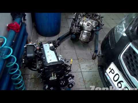 Фото к видео: Двигатель Киа Рио заклинил, какой ресурс? Меняй масло вовремя!