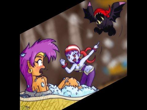 Shantae Is Naked And Risky Is A Lesbian Niiiiiice Shantae And