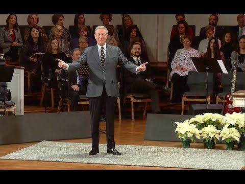 """""""Wherever you are - He is"""" pastor Loran Livingston, Central Church, December 30, 2018"""