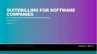 NetSuite's SuiteBilling for Software Companies