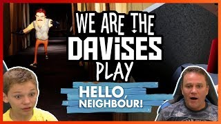 We Escaped The Basement | Hello Neighbor Final Release EP-3 | We Are The Davises Gaming