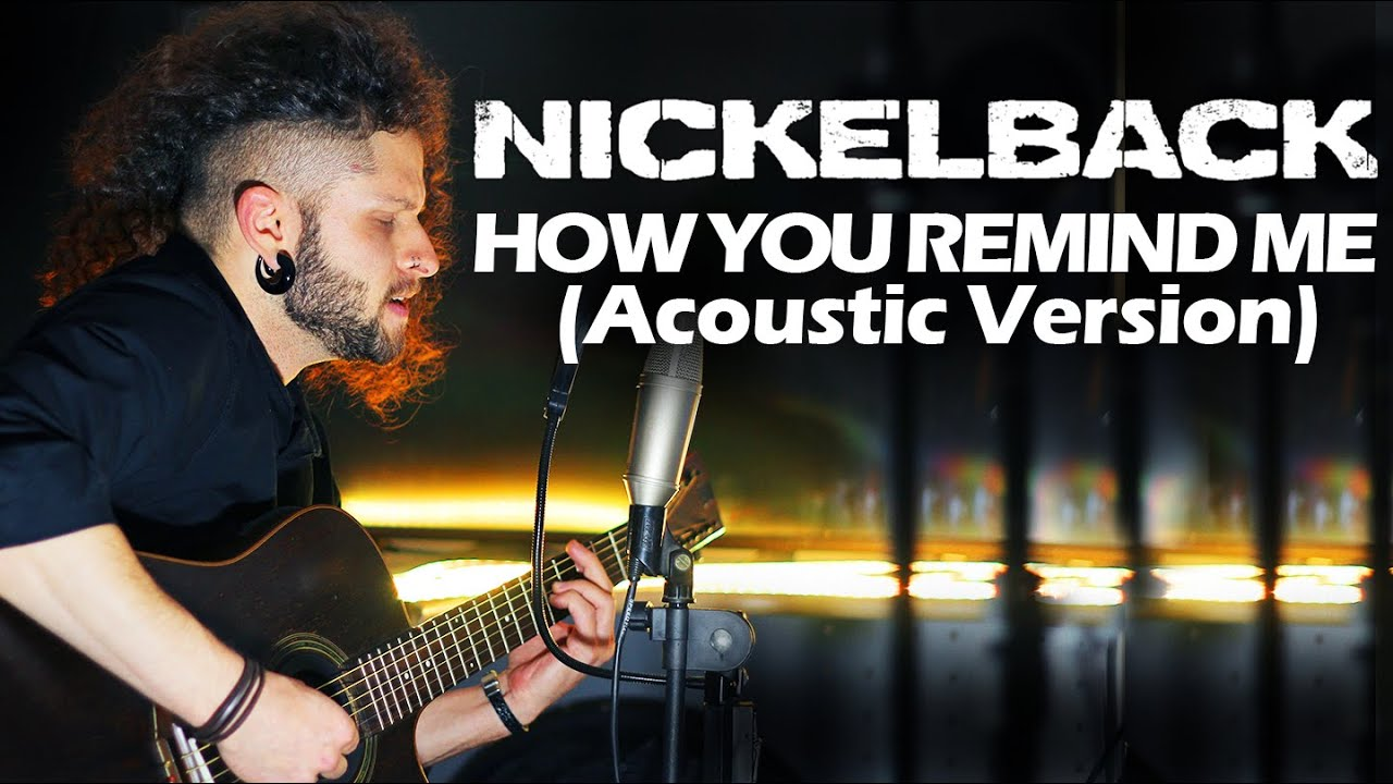 MARCELO CARVALHO | NICKELBACK | HOW YOU REMIND ME | Acoustic Version
