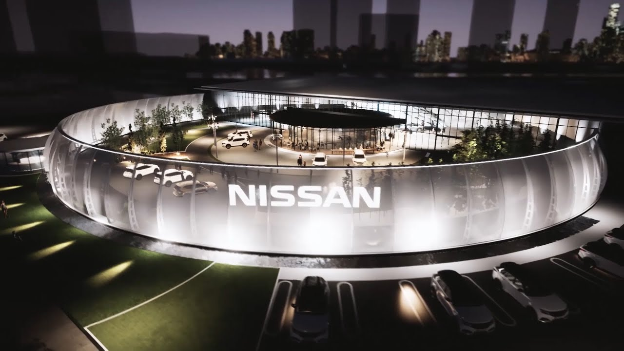 Experience the future of mobility at the Nissan Pavilion