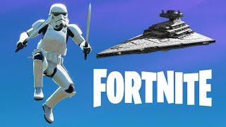 STARWARS LLEGA A FORTNITE! Fortnite Battle Royale