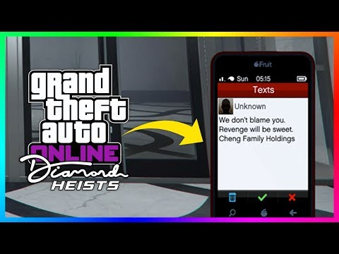 GTA 5 Online NEW Casino Heist DLC Update - CONFIRMED! Players Receive Mysterious Text Messages!