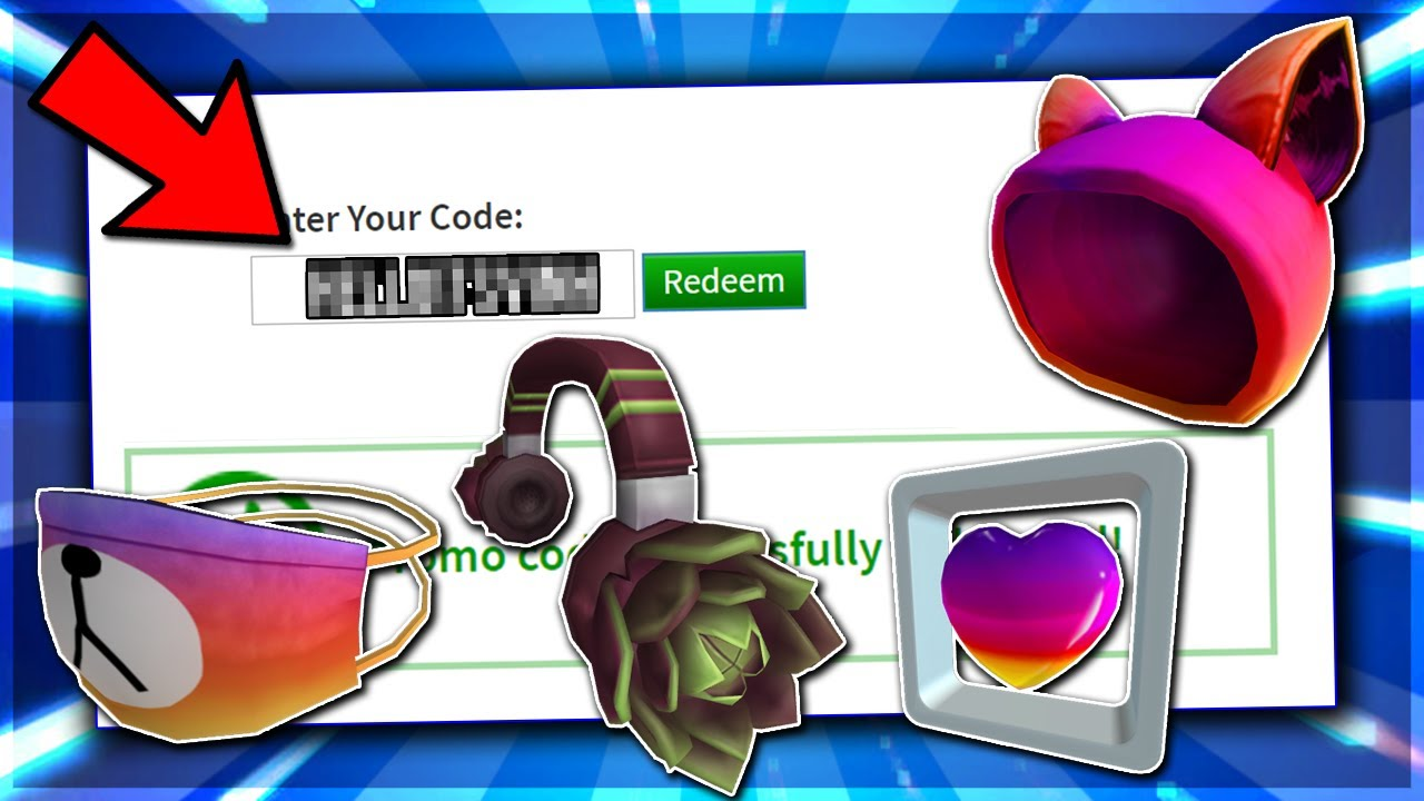 *FEBRUARY* ALL ROBLOX PROMO CODE! ROBLOX EVENTS PROMO CODE ... on Promo Code Roblox id=49505