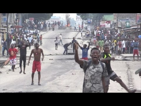 Gunfire in DR Congo capital as Kabila's mandate expires