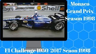 F1 Challenge 1950-2017 Season 1998 Chapter 6 Monaco Grand Prix