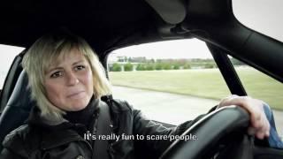 BMW unscripted. Sabine Schmitz.