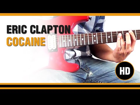 How to play Cocaine from Eric Clapton - Electric Guitar GUITAR LESSON