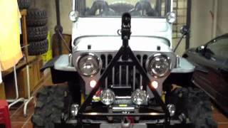 JEEP WILLYS CJ3A 1950 V8