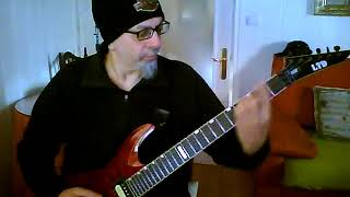 GRINDER Judas Priest Six Feet Under Version Guitar Cover Montxo Costoya