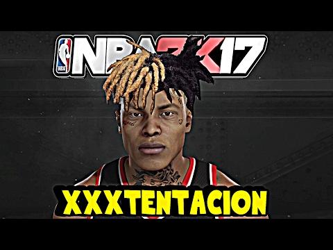 *RARE* XXXTENTACION- NBA 2K17 - HOW TO MAKE XXXTENTACION NBA 2K17 #XFREE
