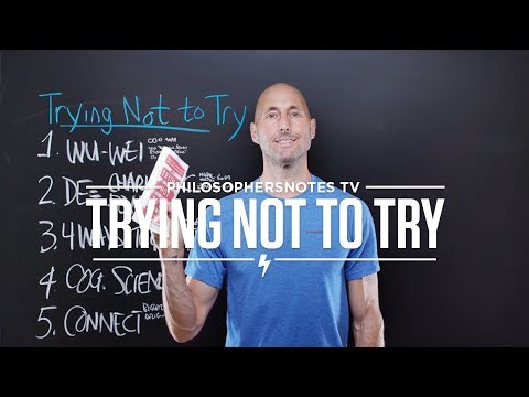 PNTV: Trying Not to Try by Edward Slingerland