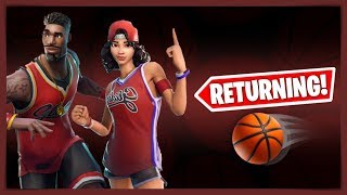 FORTNITE OG BASKETBALL SKINS RETURNING (NEW MJ SKIN) | NEW FORTNITE X MICHAEL JORDAN COLLABORATION