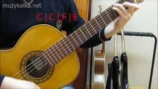 М. Дунаевский - Непогода (Мери Поппинс), аккорды, разбор на гитаре - 2 ч.