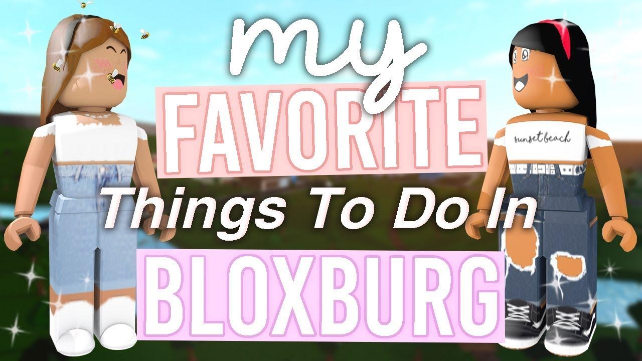 My Favorite Things To Do in Bloxburg | ft Sunset Safari | Roblox Bloxburg  Skit | alixia