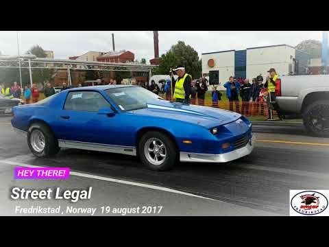 Street Legal Fredrikstad, Norway 19 august 2017