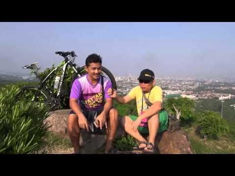 Biking Reviews : เช้าวันเสาร์ น้ำบนเขา เสือภูเขา เขาคอหงส์ จุดชมวิวหาดใหญ่