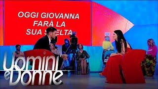 Uomini e Donne, Trono Classico - La non scelta di Giovanna