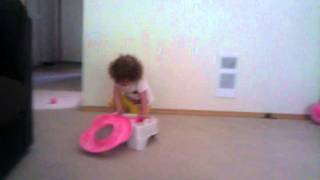 Broox throwing a fit over potty training