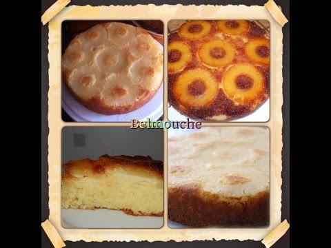recette-du-gâteau-à-l'ananas-facile-(caramélisé-ou-pas)