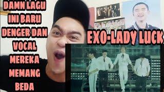 EXO - LADY LUCK (LIVE)  | CHARACTER VOCAL MEREKA MEMANG LAIN | SINGER REACTION