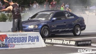 Fast Guy Racing Sport FWD Coupe first 9 second pass | Honda Day ETown 2014 | ERacer