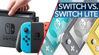 Switch 2.0 gegen Switch Lite - Was sind die Unterschiede?
